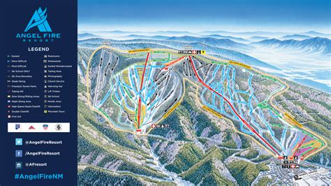Angel Fire Resort Trail Map
