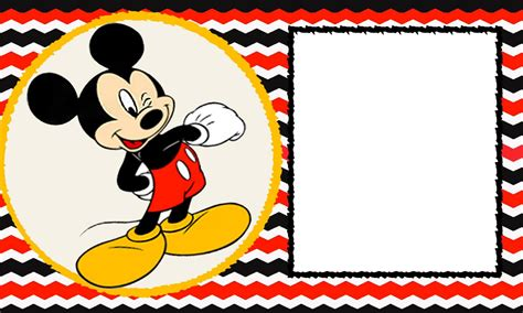 baby mickey invitation template 6 incredible mickey mouse