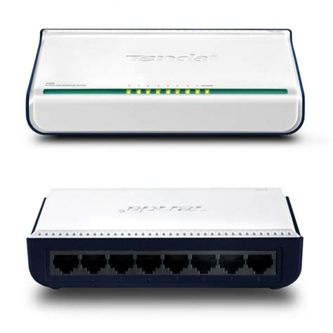 Switch Hub Tenda tenda s108 8 port 10 100 fast ethernet switch hub uk satsecure