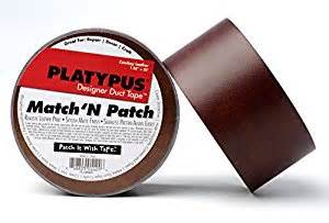 Leather Upholstery Patch Amazon Com Platypus Match N Patch Cowboy Leather Tape