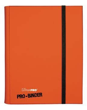 Ultra Pro 9 Pocket Orange Pro Binder ultra pro 9 pocket orange pro binder accessories 187 binders and portfolios collector s cache
