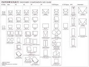 stationery paper size chart paperie paper