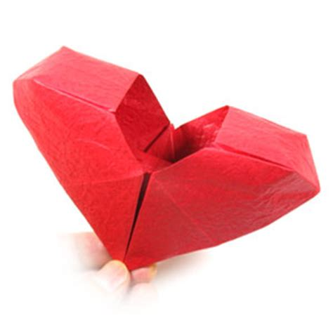 3d Origami Hearts - how to make an origami box page 30