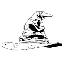 harry potter sorting hat coloring page top 20 free printable harry harry potter coloring pages