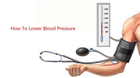 how to lower blood pressure prevent high blood pressure