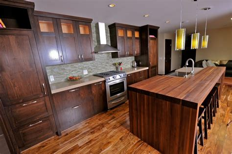 Kitchen Island Calgary | custom kitchen cabinets calgary evolve kitchens recycled wood