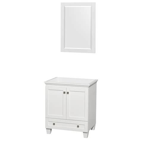 bathroom vanity no sink wyndham collection wcv800030swhcxsxxm24 acclaim 30 inch