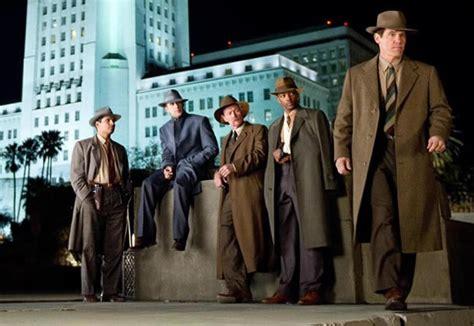 film escouade gangster gangster squad critique