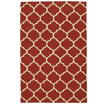 Area Rugs Pier One Cabana Geometric Rugs Tomato