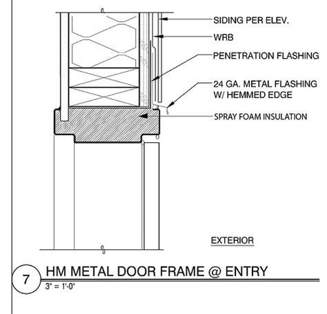 Hollow Metal Door Frame Details by Hollow Metal Door As Built Detail Flickr Photo