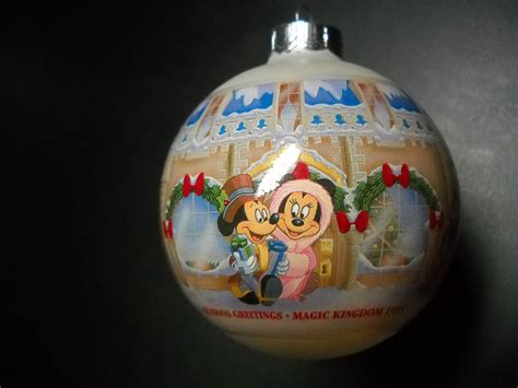 disney christmas collection glass ornament 1995 magic