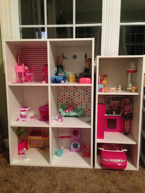 homemade barbie doll houses best 25 homemade barbie house ideas on pinterest barbie house homemade dollhouse