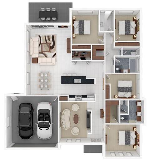 planos de casas en 3d plano en 3d planos de casas modernas