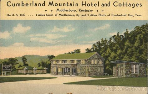 cumberland mountain hotel and cottages middlesboro ky