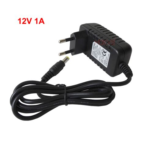 Adaptor Cctv 12v 1a 12 Volt 1 Ere 12 V 1 A power supply adapter charger ac converter with dc 12v 1a output for analog ip cctv security