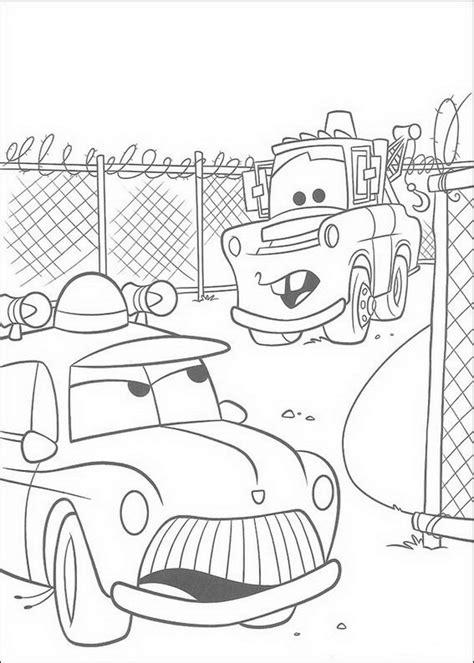 cars sheriff coloring page cars malvorlagen disneymalvorlagen de