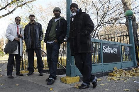 is bed stuy safe a group of bed stuy men walk pedestrians home from the train to prevent muggings