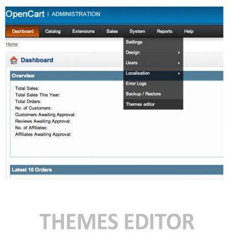 opencart template editor opencart template editor theme editor file editor