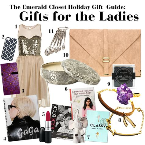 Womens Gift Ideas - gift guide for covet fridays what to get the