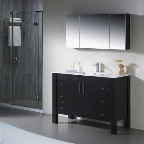Parsons Vanity by Vanity Parsons 49 With Porcelain Top