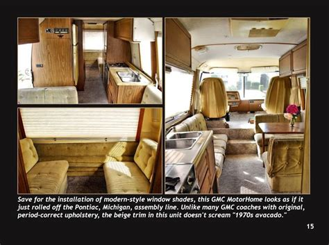 1975 home interior design forum 7 best images about gmc motorhomes travel trailers on