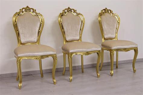 sedie stile barocco sedia in stile barocco minimale con braccioli idfdesign
