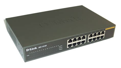 D Link Fast Ethernet Switch 16 Port Des 1016a Berkualitas d link des 1016d 16 port 10 100 fast ethernet switch no rack mount ears ebay
