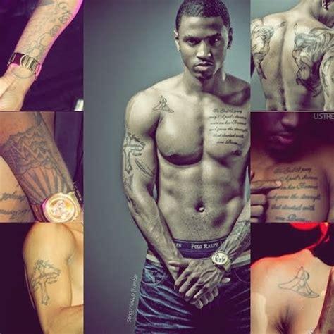 trey songz wrist tattoos trey songz trey songz on chest