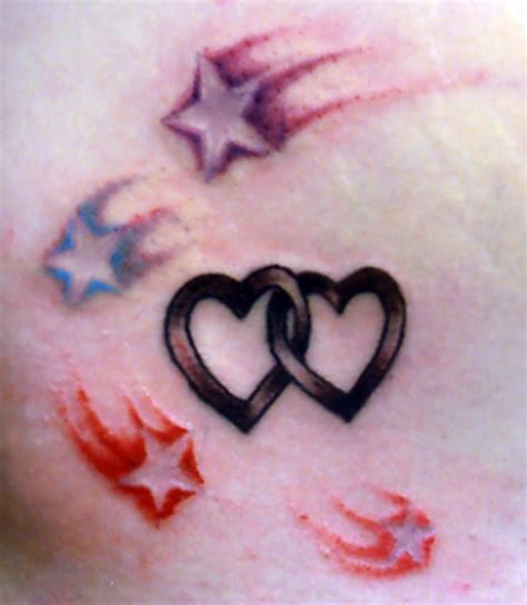 stars and hearts tattoo designs images designs