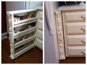 Spice Rack On Wheels Diy Rolling Spice Rack Organizer This Diy