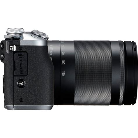 Canon Eos M6 Ef M 18 150mm Silver buy canon eos m6 ef m 18 150mm is stm silver lens in wi