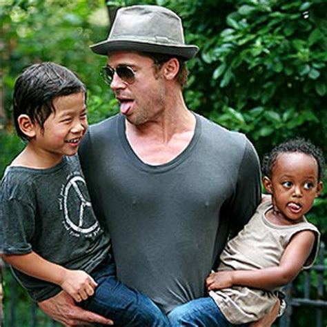 Pitt And Will Adopt Child Number Four by Brad Pitt Causing Frenzy At His Kid S School