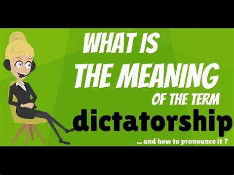 historic meaning what is dictatorship dictatorship meaning dictatorship