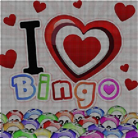 I Love Bingo Crochet Pattern