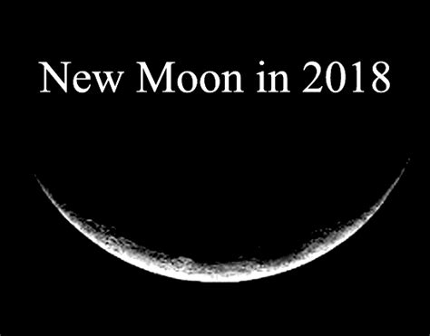 Moon Calendar 2018 Moon Phases In 2018 New Moon Calendar Tarot Astrology