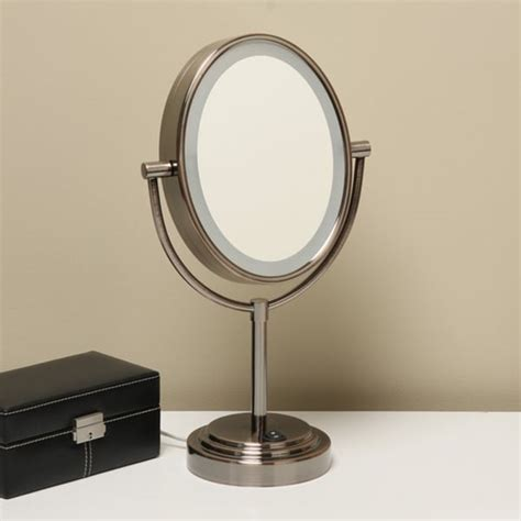 conair rubbed bronze lighted makeup mirror conair 7x lighted makeup mirror bronze mugeek vidalondon