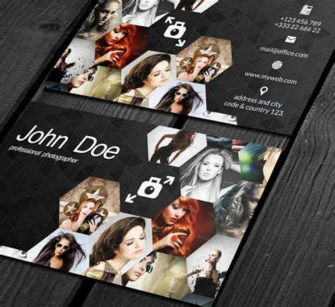 40 Creative Photography Business Card Designs For Inspiration Card Templates For Photographers 2014