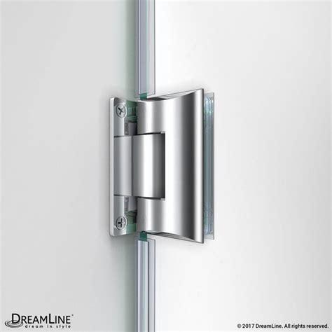 Dreamline Shdr 20347210 Unidoor 34 To 35 Inch Frameless 34 Inch Frameless Shower Door