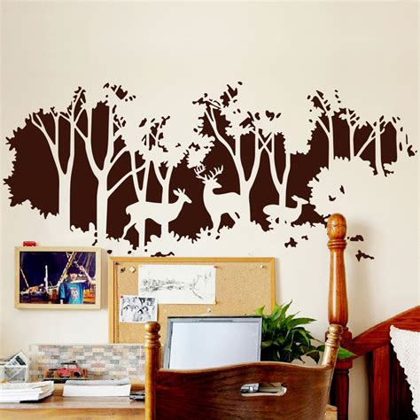 Baby Room Wall Decorations Stickers large silhouette wall decals