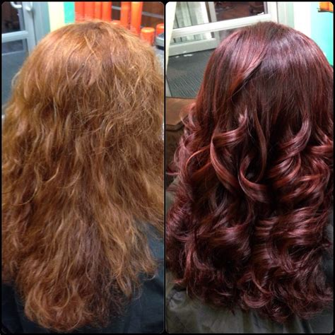 regis hair colors before and after color correction yelp