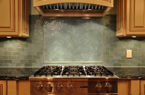 glass tile backsplash slate subway pattern mosaic stone tile kitchen