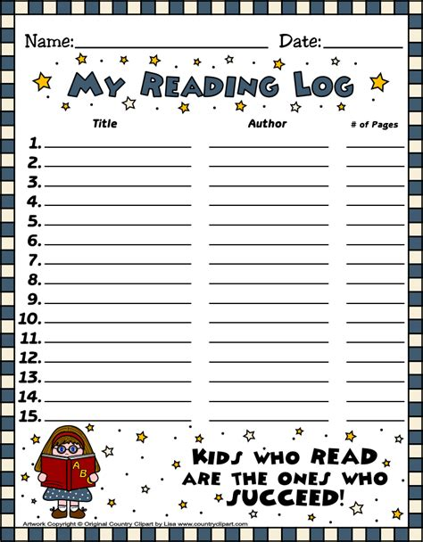 printable reading log printable reading log cafemom