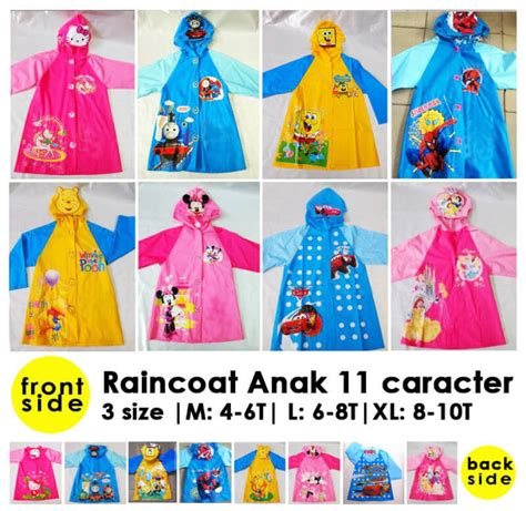 Baju Kaos Anak Cewe Karakter Hellokitty Size 101214 Cvc Foil Grosir jual grosir jas hujan karakter anak hatibunda