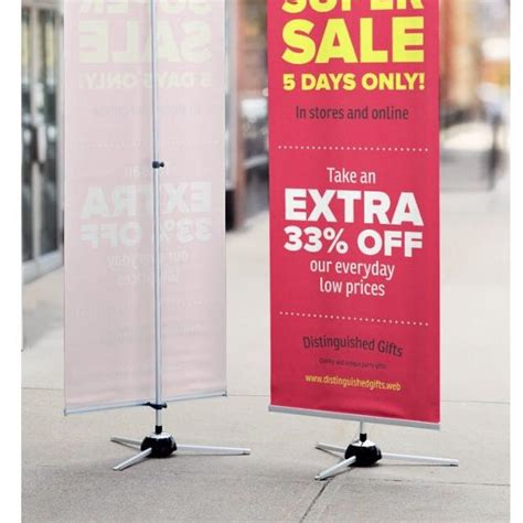 find more h banner stand from vistaprint for sale at up to 90 off