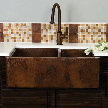 how to clean a hammered copper sink copper kitchen farmhouse sinks and farmhouse on pinterest
