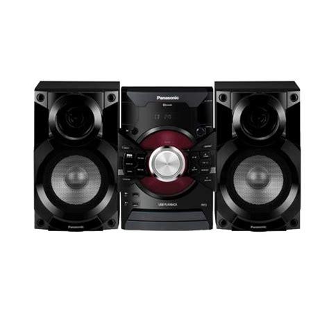 panasonic sc akx18 350w bookshelf stereo system black
