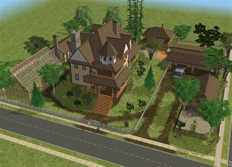 Garage Workshop Designs sims 2 farm by ramborocky on deviantart