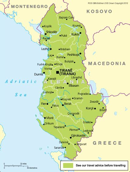 Search In Albania Albania Travel Advice Gov Uk