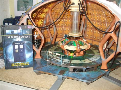 9th Doctor Tardis Interior by 9th 10th Doctor Tardis Console Room Playset 2 By