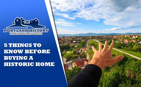 things to know before buying a house to know before buying a house portland history historic home improvement services